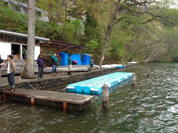 1b44fef98a82aedf0a2efebbec653344 - 野尻キャンプ場の準備が始まりました 2012開荘ワークキャンプ