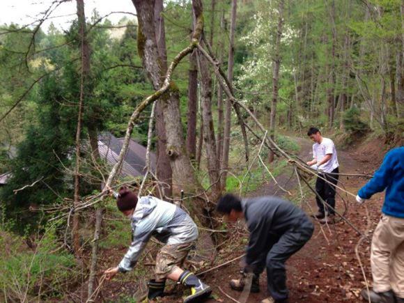 8520dbe3054aebdb46c41a596fe1030d - 野尻キャンプ場の準備が始まりました|2012開荘ワークキャンプ