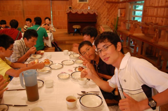050b34f9625b1b295562ab49c1021c23 - 第77回野尻学荘 14日目 晩餐会と閉荘式でした
