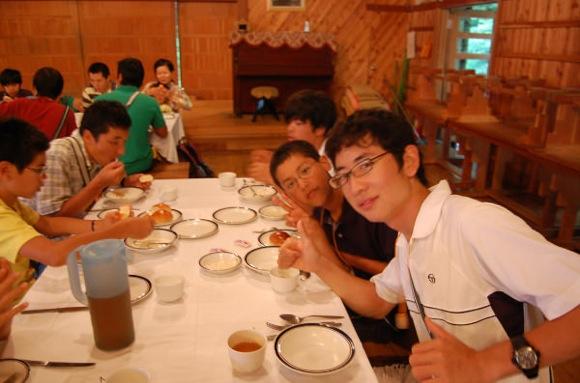第77回野尻学荘 14日目 晩餐会と閉荘式でした
