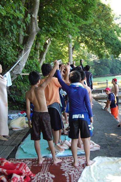 11d14821f35e561cd99912a7801abb30 - 第77回野尻学荘 12日目 遠泳は無事に終了しました。