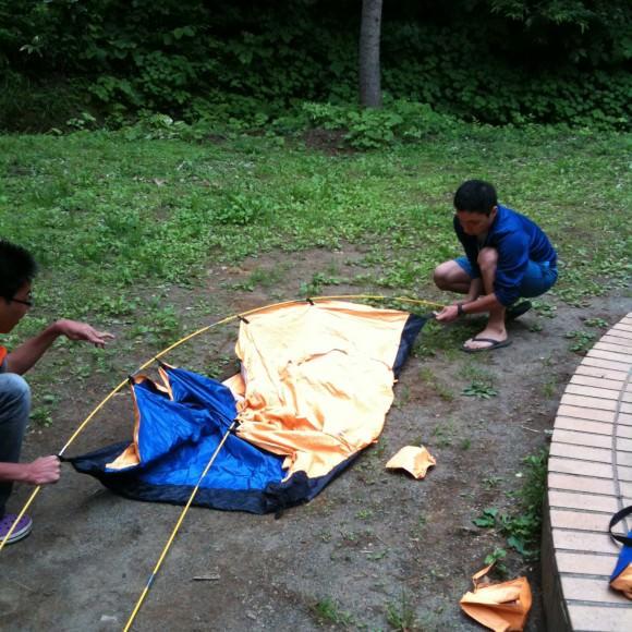 第76回野尻学荘プレキャンプ – 2日目の午後