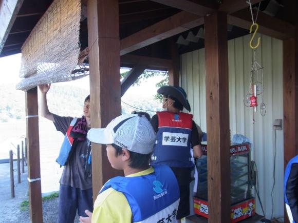 4 - 第77回野尻学荘 11日目 ローイング実修はおしまに行って来ました。