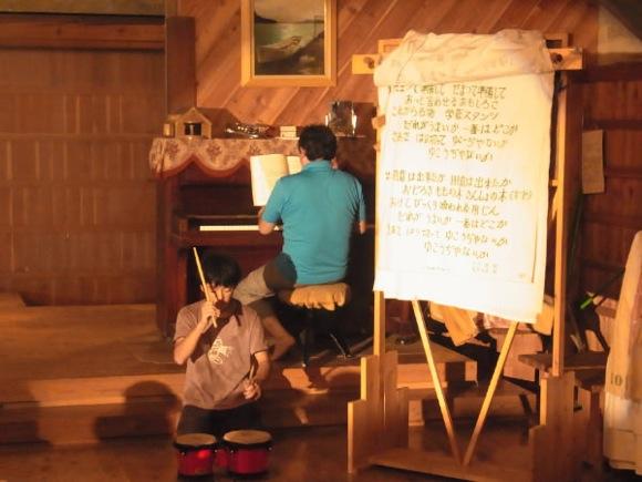 第77回野尻学荘 12日目 本日の夜はスタンツでした!