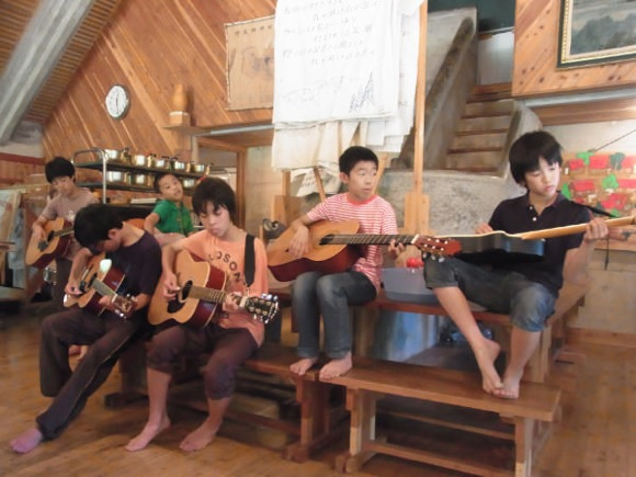6 - 第77回野尻学荘 11日目 ローイング実修はおしまに行って来ました。