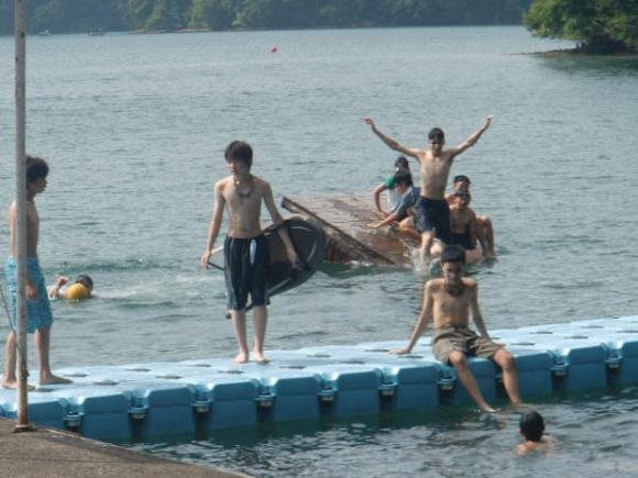 6b152038a8cc2ab5046913e38286d531 - 第77回野尻学荘 3日目 午後は水泳日和でした