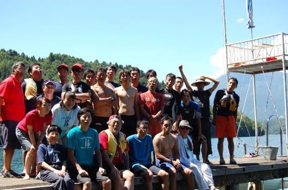 9dfc68a1f613372d02444ab16e07df7a - 第77回野尻学荘 12日目 遠泳は無事に終了しました。