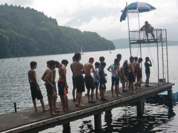 9f9dda982ccd6ac5cdd457b76f560f7b - 第77回野尻学荘 3日目 午後は水泳日和でした