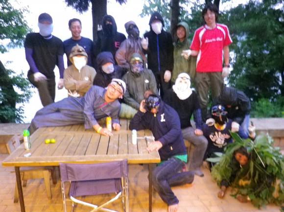 第76回野尻学荘 10日目 たぬき狩り
