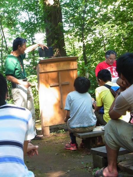 第77回野尻学荘 10日目 礼拝と実修