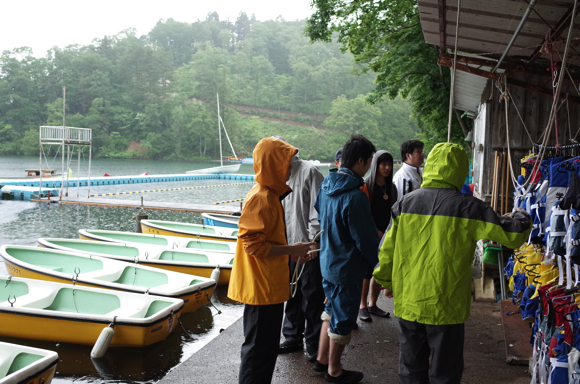 第78回野尻学荘リーダートレーニングキャンプ ローボートのトレーニング
