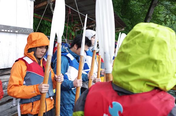 GR000172 - 第78回野尻学荘リーダートレーニングキャンプ ローボートのトレーニング