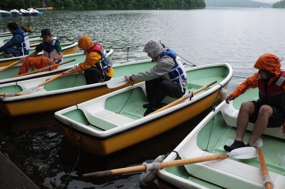 GR000176 - 第78回野尻学荘リーダートレーニングキャンプ ローボートのトレーニング