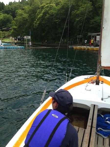 IMG 0222 - 第78回野尻学荘 水小舎便り ヨットの特訓中