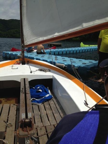 IMG 0223 - 第78回野尻学荘 水小舎便り ヨットの特訓中
