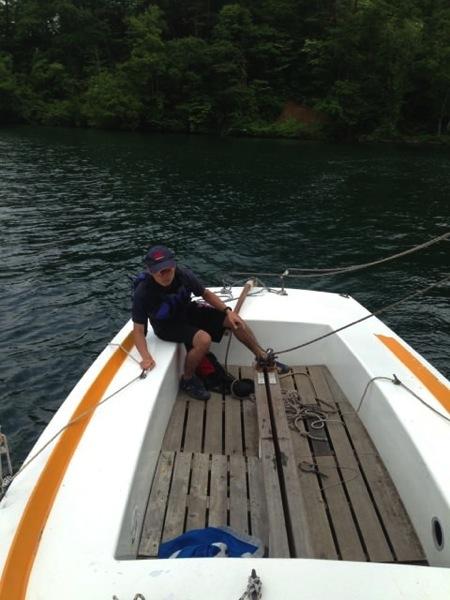IMG 0225 - 第78回野尻学荘 水小舎便り ヨットの特訓中