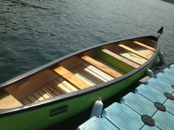 第78回野尻学荘 水小舎便り ビッグカヌーとカナディアンカヌーをもうちょっと詳しく