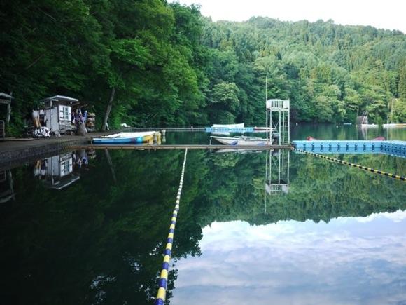 P1080281 - 第78回野尻学荘 水小舎便り 朝の水場はとても綺麗です