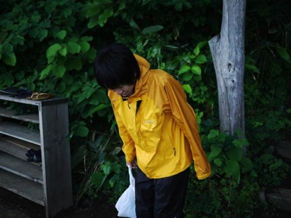 P1080313 - 第78回野尻学荘 水小舎便り おはようのポーズ