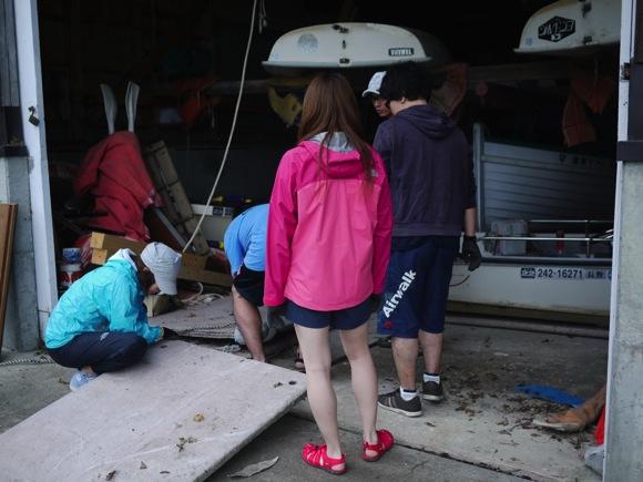 ng78 1 - 第78回野尻学荘 水小舎便り ビッグカヌーとカナディアンカヌーがやってきた!