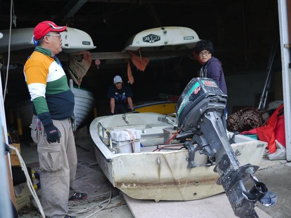 ng78 2 - 第78回野尻学荘 水小舎便り ビッグカヌーとカナディアンカヌーがやってきた!