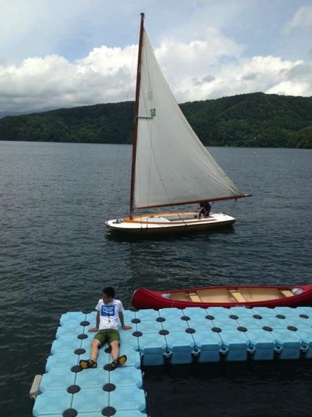 IMG 0230 - 第78回野尻学荘 水小舎便り ヨットの着艇トレーニング
