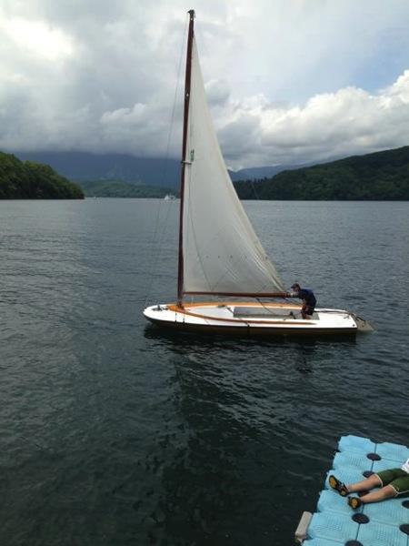 IMG 0231 - 第78回野尻学荘 水小舎便り ヨットの着艇トレーニング