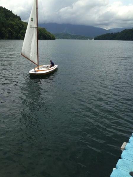 IMG 0238 - 第78回野尻学荘 水小舎便り ヨットの着艇トレーニング