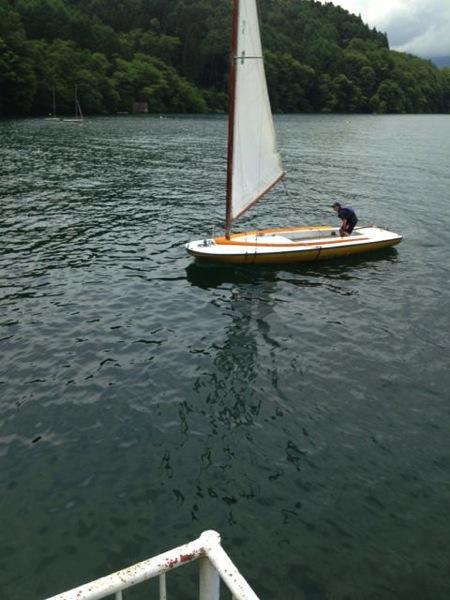 IMG 0240 - 第78回野尻学荘 水小舎便り ヨットの着艇トレーニング