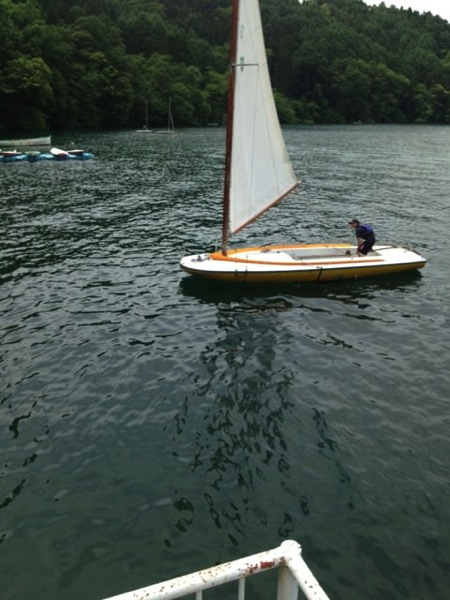 IMG 0241 - 第78回野尻学荘 水小舎便り ヨットの着艇トレーニング