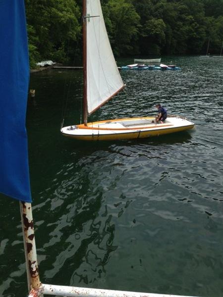 IMG 0244 - 第78回野尻学荘 水小舎便り ヨットの着艇トレーニング
