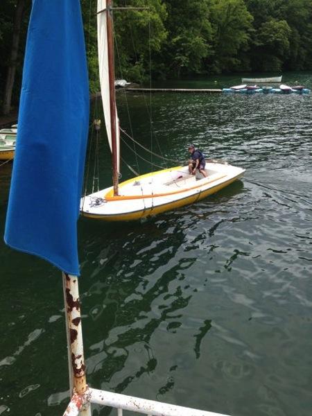 IMG 0245 - 第78回野尻学荘 水小舎便り ヨットの着艇トレーニング