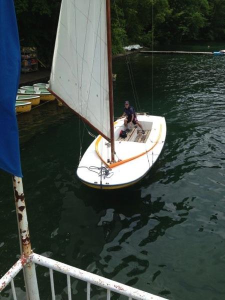 IMG 0246 - 第78回野尻学荘 水小舎便り ヨットの着艇トレーニング