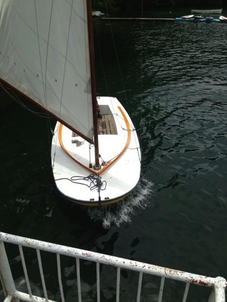 IMG 0247 - 第78回野尻学荘 水小舎便り ヨットの着艇トレーニング
