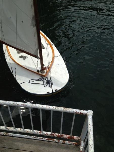 IMG 0248 - 第78回野尻学荘 水小舎便り ヨットの着艇トレーニング