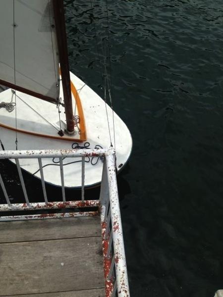 IMG 0249 - 第78回野尻学荘 水小舎便り ヨットの着艇トレーニング