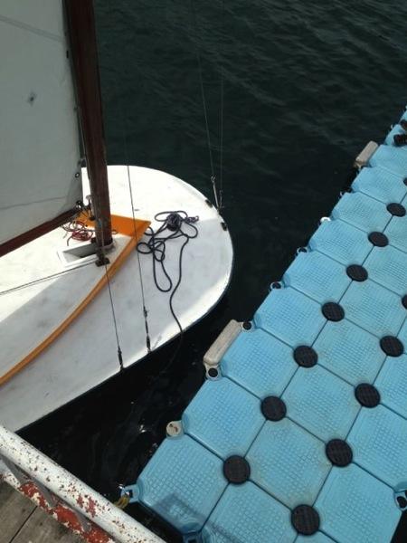 IMG 0251 - 第78回野尻学荘 水小舎便り ヨットの着艇トレーニング