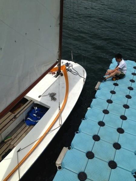IMG 0253 - 第78回野尻学荘 水小舎便り ヨットの着艇トレーニング
