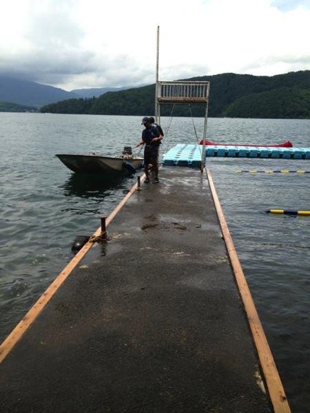 IMG 0258 - 第78回野尻学荘 水小舎便り ヨットの着艇トレーニングの振り返り