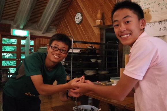 第78回野尻学荘11日目 セーリングマスターの授与や遠泳の準備