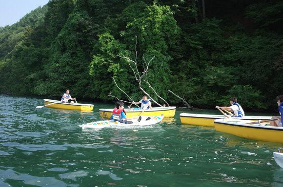 624b45088717ee4be7518b0ececba49a1 - 第78回野尻学荘3日目 午後のCAはプールにカヤックにローボート!