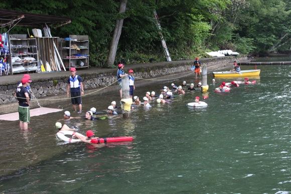 797c2e408ecf7ac29968e8b4d7036e2e - 第78回野尻学荘12日目 遠泳は無事に終了しました!