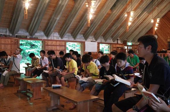 8369a3ac2117b940d0f5898f8f5fc45d - 第78回野尻学荘3日目 日曜日なので午前中は主日礼拝でした