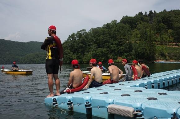 8369a3ac2117b940d0f5898f8f5fc45d12 - 第78回野尻学荘9日目 午後は快泳なのでリーダー達は練習中