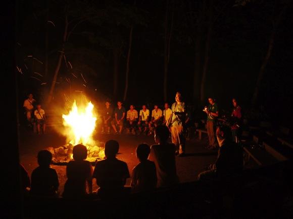 P1080868 - 第78回野尻学荘1日目 無事にキャンプ場に到着!開荘式が行われました!