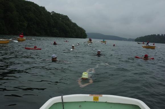ddd47413166c725817ed5a9ddfe2f930 - 第78回野尻学荘12日目 遠泳は無事に終了しました!