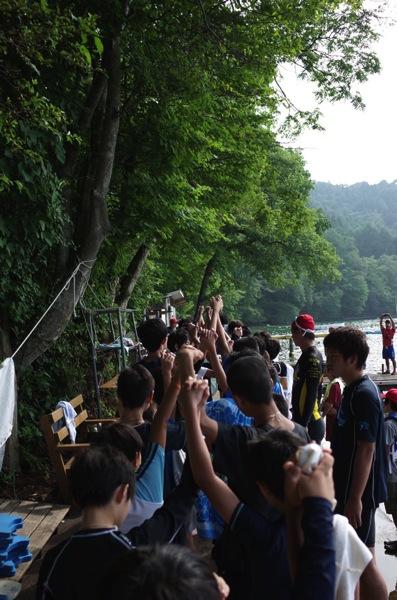 f9b89448bb4c06a348e75a9eeb8327f0 - 第78回野尻学荘9日目 快泳は無事に終了しました