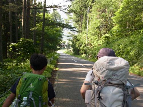 第78回野尻学荘アウティング 笹ヶ峰キャンプ場から黒沢ヒュッテ