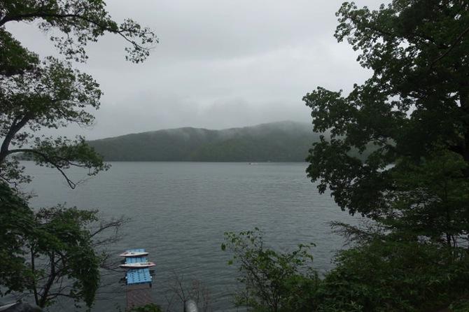 DSC00216 - 野尻湖は雨です。これから各キャビンは帰ってきます|第79回野尻学荘7日目