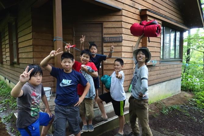 DSC00220 - 野尻湖は雨です。これから各キャビンは帰ってきます|第79回野尻学荘7日目